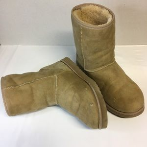 Mens UGG Sport Classic Chestnut Suede Lined Boots